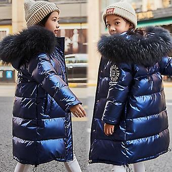 Wodoodporna kurtka zimowa - Płaszcz z kapturem na zewnątrz