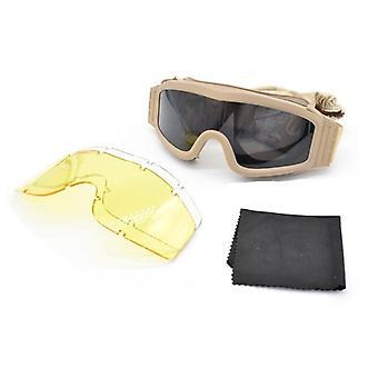 Lunettes tactiques Airsoft, lunettes de soleil tactiques Usmc