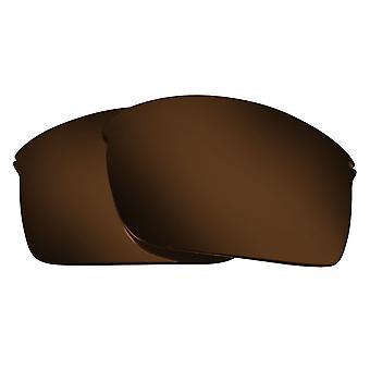 Replacement Lenses for Oakley Wiretap Sunglasses Anti-Scratch Dark Brown