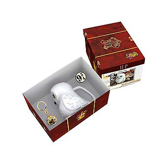 Harry Potter 3D Mug Keyring and Pin Harrys Suitcase new Official Gift Set