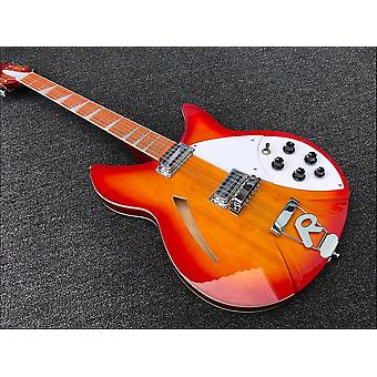 High Quality String Electric Guitar, Burst Body, Rosewood Finger Board