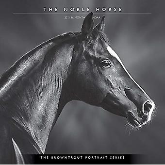 الحصان النبيل براونتروت صورة سلسلة 2021 التقويم مربع من قبل براونتروت