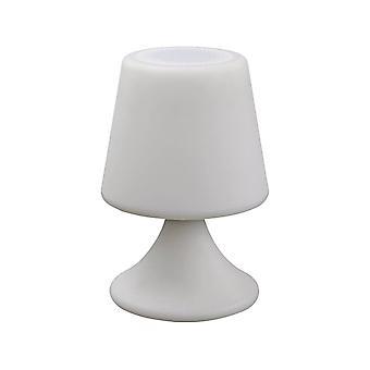 Lampara de exterior Bluetooth 'quot;JAVA-quot; - Blanco