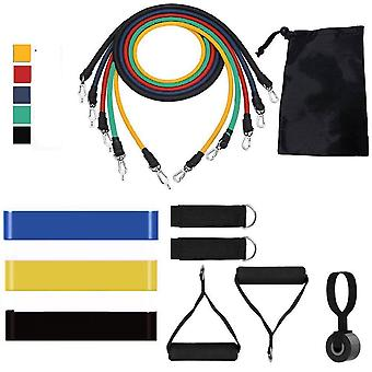 Yoga Tube, Resistance Bands Set- Élastique Rubber Band, Pull Rope, Gym Fitness