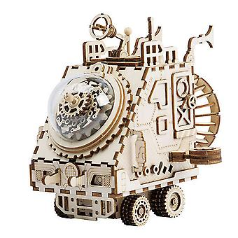 Robotime DIY wooden handmade music box