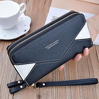 Women's Purses Tassel Coin/card Holder Wallets, Female Leather Money Bag