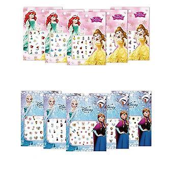 Bevroren 2 Elsa Anna Cartoon Nail Sticker