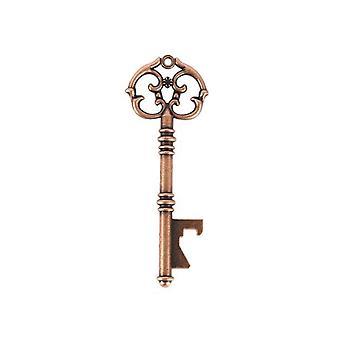 50 PCS Vintage Skeleton Love Key Bottle Opener comme un style cérémonie de mariage A