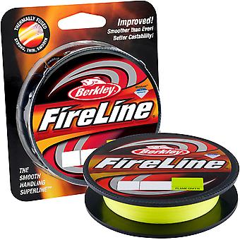 Berkley FireLine sulatettu alkuperäinen Kalastus Line (300 yds) - 14 lb testi - liekki vihreä