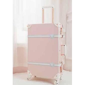 女性パスワードスーツケース
