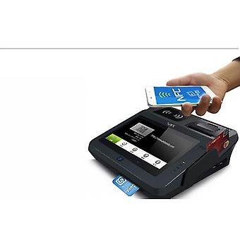 All In One 3g Nfc Android Pos System With Barcode Scanner And Thermal Printer