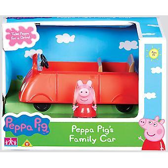 Peppa Pig Family Car Playset