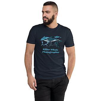 Killer Whale Photographer - Short-sleeved T-shirt, men