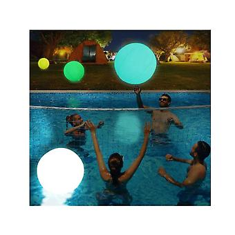 Light Up Pool Floats Led Beach Ball Volleyball Pool Toy Inflatable Floating Ball