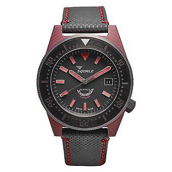 Squale T183R 600 Meter Swiss Automatic Dive Wristwatch Carbon Fibre