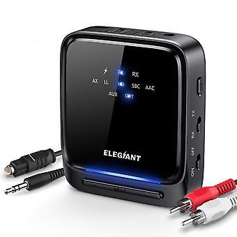 Elegiant bluetooth 5.0 přijímač vysílače, bluetooth audio adaptér bezdrátový splitter (optický digi