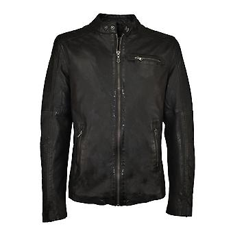 Men's leather jacket Chronos