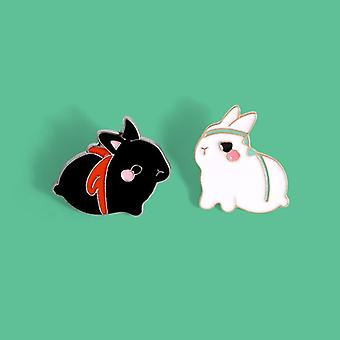 The Untamed Enamel Brooch Bag Clothes Lapel Pin Button Badge Cartoon Animal