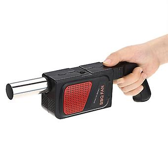 Bbq Fan Air Blowers, Handheld Electric, Bentilator Bellows For Outdoor Cooking