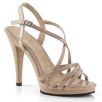 Fabulicious Frauen's Schuhe FLAIR-413 Nude Pat/Nude