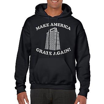 Humor Grate Again Men's Black Funny T-shirt