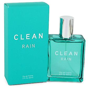 Clean Rain Eau De Toilette Spray By Clean 2 oz Eau De Toilette Spray