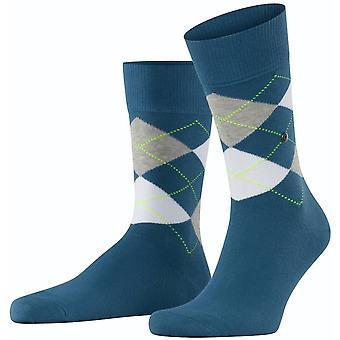 Burlington King Socks - Lupine Blue