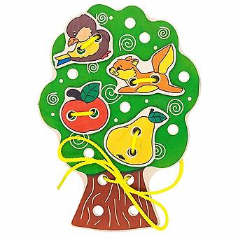 "Alatoys Cordones de Madera ""Tree"""