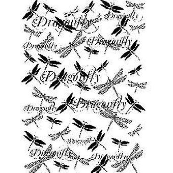 Sentimentally Yours Dragonfly Days A6 Rubber Stamp