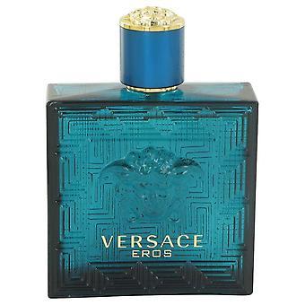 Versace Eros Eau De Toilette Spray (Tester) By Versace 3.4 oz Eau De Toilette Spray