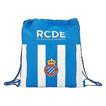 Backpack with strings rcd espanyol blue white