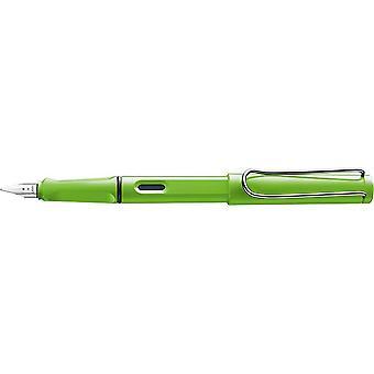 Lamy Safari Steel Nib Fountain Pen - Green