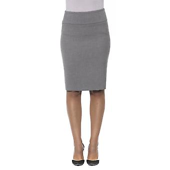 Grey skirt Peserico Woman