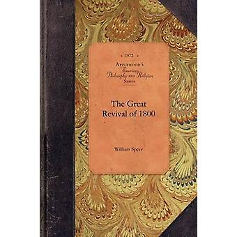 The Great Revival of 1800 by William Speer - 9781429018302 Book