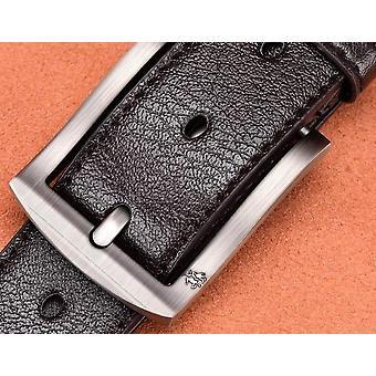 High Quality Black Buckle Jeans Belt ( Set 2)