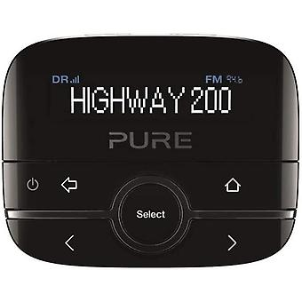DZK Highway 200 In-Car DAB+/DAB Digital Radio FM Adapter with AUX Input for Music Playback