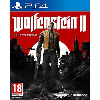 Wolfenstein Ii The New Colossus Ps4 Play Station 4 Game