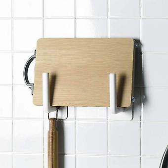 2pcs Wall-mounted Shelves Kitchen Toilets Towel Hanger - Paper Shelf (a-2pcs)