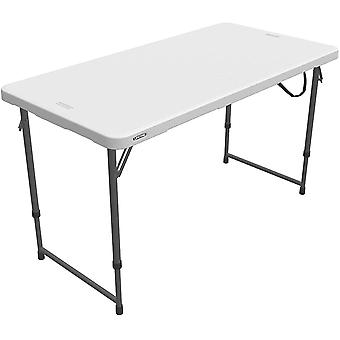 Wokex 121,9 x 61 cm, 4 Personen, rechteckig, leicht, zusammenklappbar, einklappbare Tabelle 3