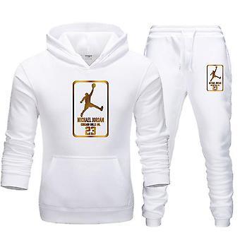 Men Tracksuit Sweatshirt Suit, Fleece Hoodie & Sweat Pants Set