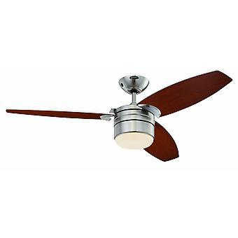 """Ventilador de techo Lavada 122cm / 48"""" con luz y control remoto"""