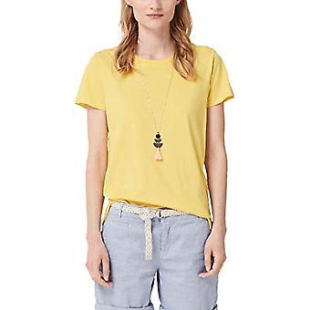 s.Oliver 21.905.32.4269 T-skjorte, Gul (Lemon Squeeze 1355), 46 (Størrelse Produsent: 40) Kvinne