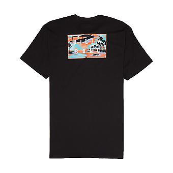 Billabong sterben geschnitten Kurzarm T-Shirt in schwarz