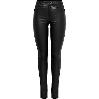 Solo pantaloni rivestiti in PU da donna Pantaloni da donna eleganti pantaloni casual
