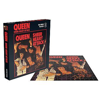 Dronning puslespil Sheer Heart Attack Album Cover nye officielle 500 Piece