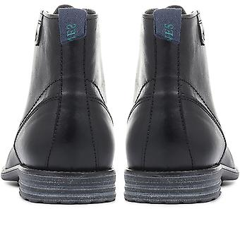 Jones Bootmaker  Johan Casual Leather Lace-Up Ankle Boots