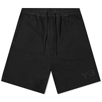 Y-3 Plain Black Shorts