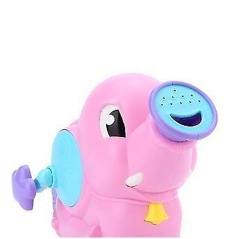 لل الفيل الكرتون المياه الطفل حمام لعب الأطفال (الوردي) WS15664