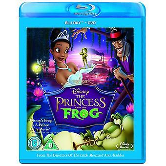 Prinsessa ja sammakko Blu-ray & DVD
