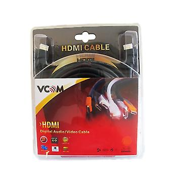 VCOM HDMI 1.4 (M) to HDMI 1.4 (M) 5m Black Retail Packaged Display Cable